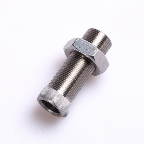 Bushing and nut for quick release axel